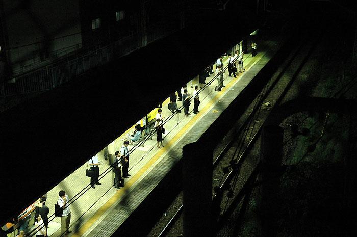 四ッ谷の駅