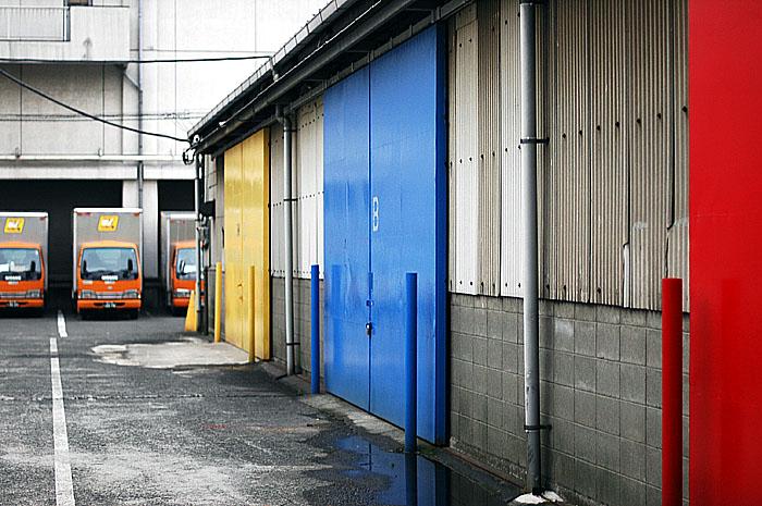 赤ドア青ドア黄ドア